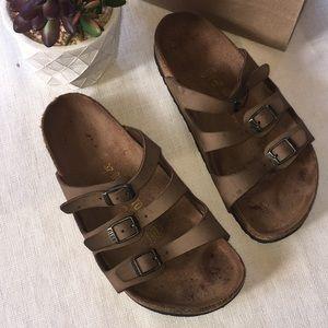 Birkenstock 3 straps sandals Sz 37